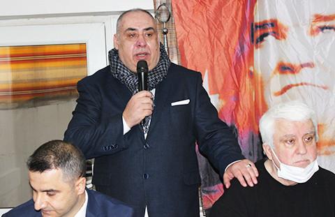 Mehmet Ali Vatansever yeniden Rumeliler Dernek Başkanı seçildi